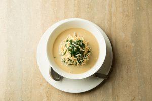 100%大豆の豆腐麺&鯛オンリーの白濁スープ! 今宵の〆はギルティーフリー!の画像