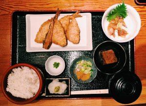 【定食のススメ】「京ばし松輪」の鯵フライに参った!の画像