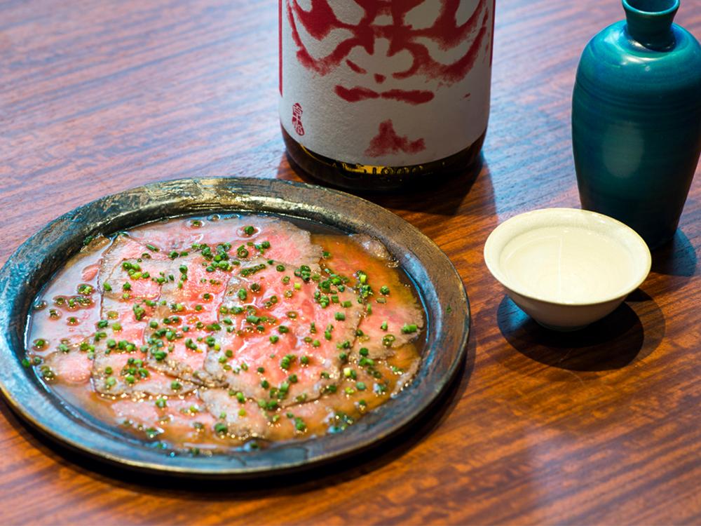 肉好き必見!ローストビーフと日本酒の美味しい化学反応の画像