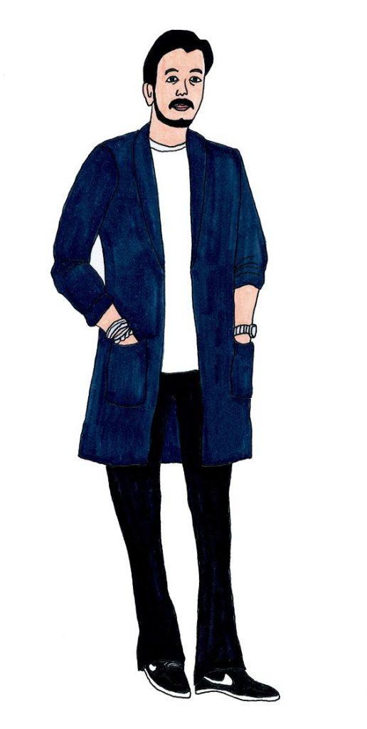 """【オシャレ業界人の食図鑑】〝ビームスの顔""""がジャケット×白Tで挑む仲間メシって!?の画像"""