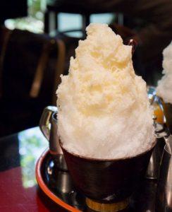 元銀座ホステスが紹介:厄除けの氣が詰まった天然氷のかき氷の画像