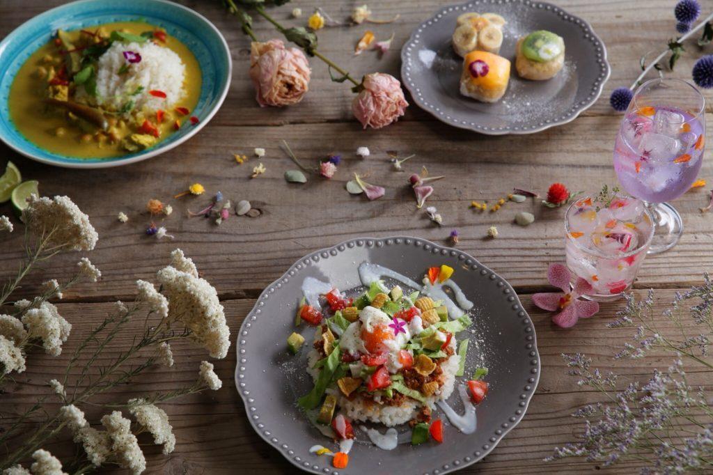 〈NEW OPEN〉日本初!花と食を楽しむドライフラワーカフェがオープンの画像