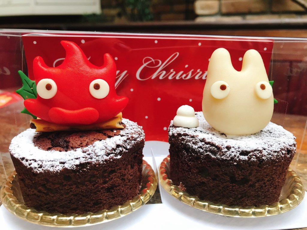 クリスマス期間限定!ハウルに出てくる人気者がケーキになって登場の画像