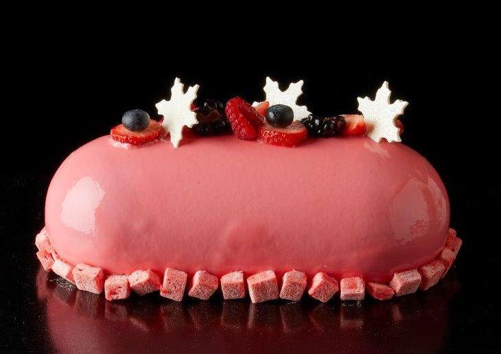 赤とピンクとチョコレート!2017年のクリスマスケーキどれ食べる?の画像