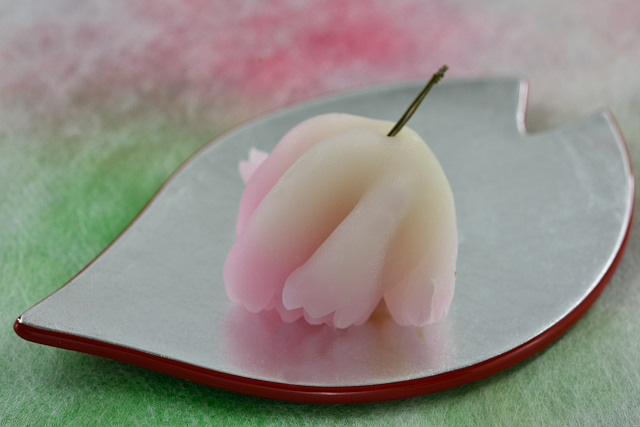 京都で一期一会の出会い。「京菓匠 游月」の春夏秋冬の上生菓子の画像