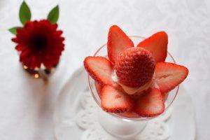 〈糖質制限DIARY〉罪悪感ゼロなのに本当に美味しいイチゴのパフェの画像