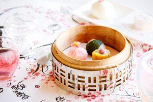 今年は天空でお花見。桜をテーマにした飲茶&アフタヌーンティーが登場の画像
