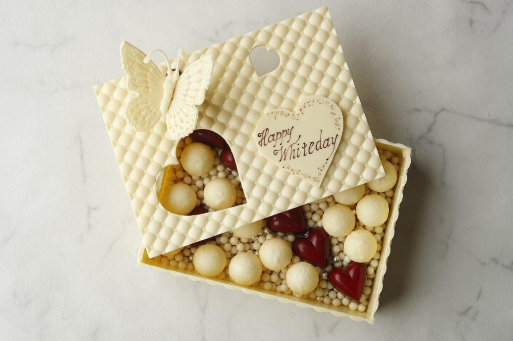 ショコラの宝石箱にうっとり。50個限定のホワイトデー勝負スイーツが登場の画像