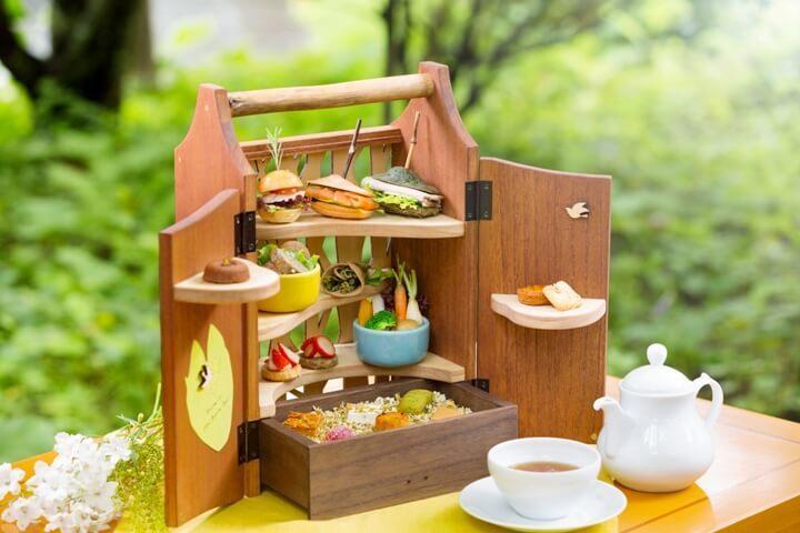 軽井沢の自然を再現した「森のアフタヌーンティー」が登場!の画像