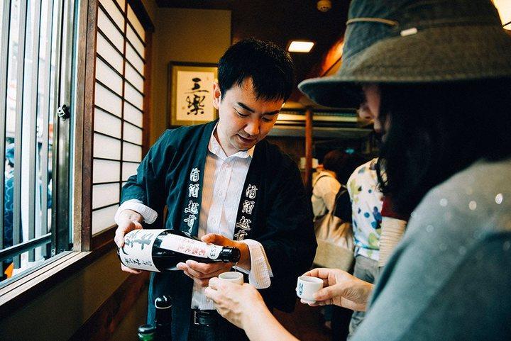 日本橋で日本酒ざんまい!全国57蔵の日本酒を利き歩こうの画像
