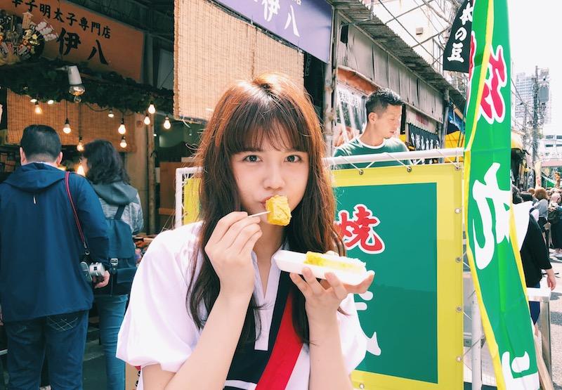モーニング寿司も!酒呑みモデルが築地食べ歩きで発見した美味しいものの画像