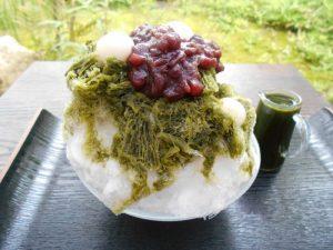 このかき氷、わざわざ食べに行く価値大!丹波の最高級素材を使った夏季限定スイーツの画像