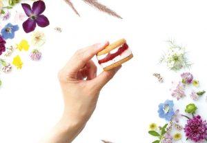 まるで手のひらサイズのケーキ!新スイーツブランドが伊勢丹新宿店に限定オープンの画像