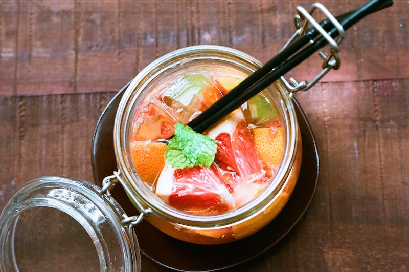 〈食べペディア 27〉水果茶の画像