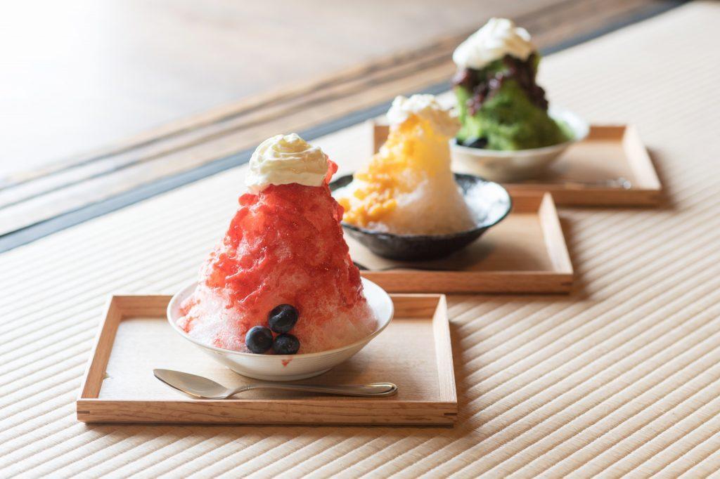 期間限定オープン!古民家カフェで楽しむ銀座の名店「六雁」のかき氷の画像