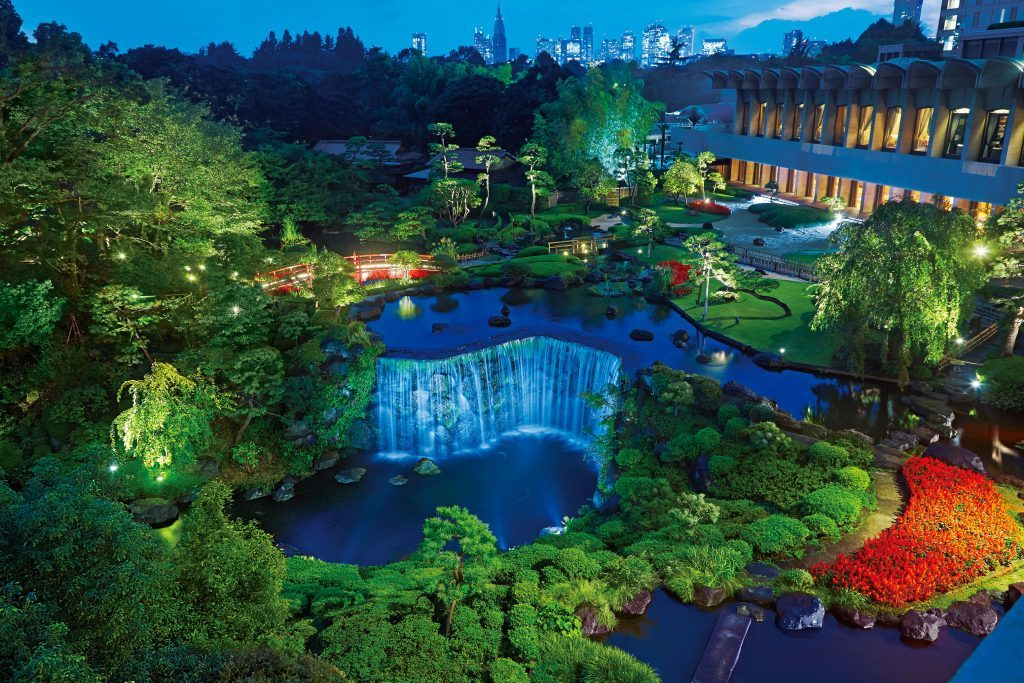 1万坪の日本庭園にひそむビアホールで、日本の夏を味わおうの画像