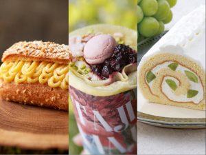 〈今週のスイーツ〉栗ペーストの贅沢エクレアに、話題のロールケーキも。新作おやつは、もう秋気分!の画像