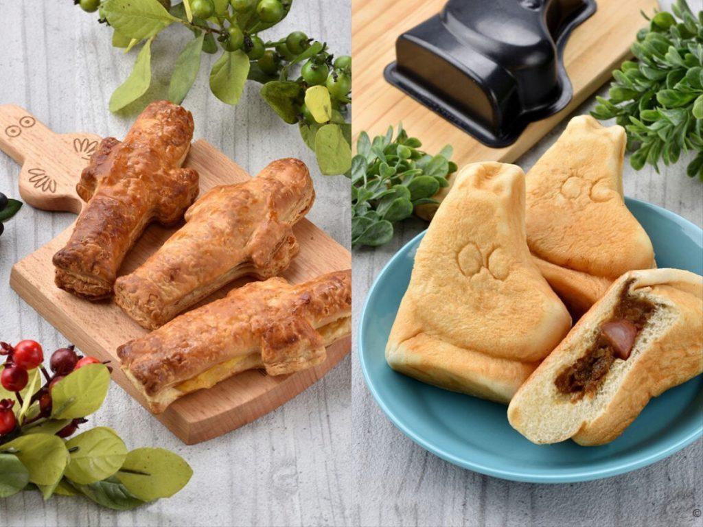 「食べられるムーミン」に癒やされるベーカリーカフェの画像