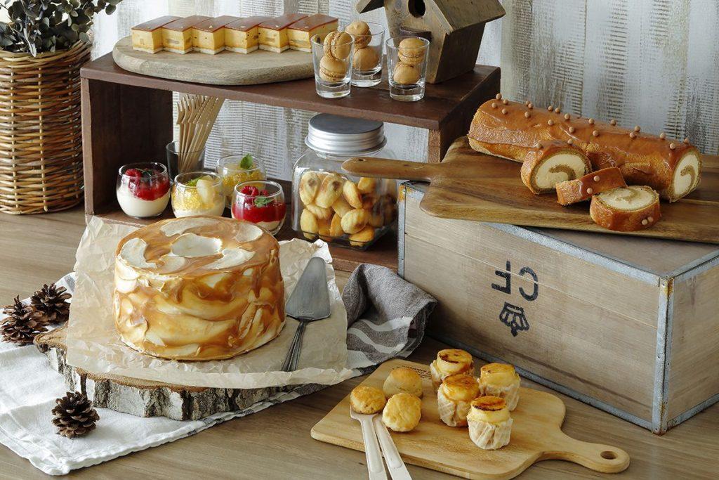 贅沢な食べ比べも◎。チーズ&キャラメルたっぷりの秋スイーツビュッフェが開催の画像