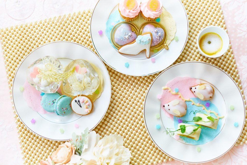 自家製デザートを好きなだけ堪能!「シンデレラ」の世界が広がるデザートワゴンの画像