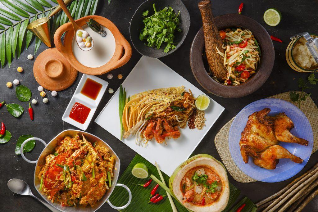 バンコクから招聘した「シェフX」が作る本格タイ料理を楽しめるブッフェ!の画像