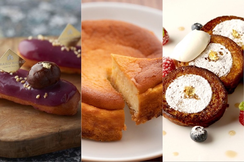 〈今週のスイーツ〉下町のチーズケーキからロブションの新作まで。スイーツ界は秋真っ盛り!の画像