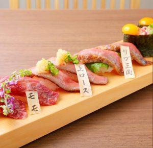 松阪牛を寿司で堪能!京都・祇園に肉寿司専門店誕生!の画像