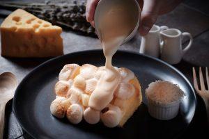 チーズ&シフォンケーキ!期間限定で味わえる奇跡のマリアージュの画像