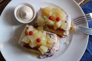 フレンチトーストにお餅をイン!モチ・ふわ・トロの三重奏にうっとりの画像