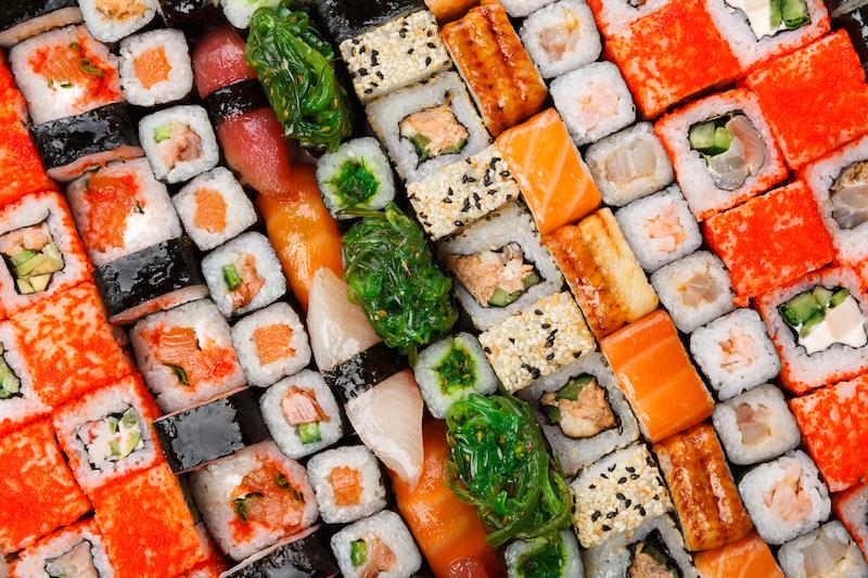 〈食べペディア 126〉飾り巻き寿司の画像