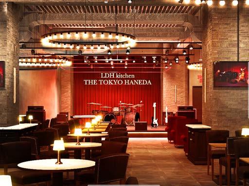 """""""おいしいライブ""""を観に羽田空港へ!あのLDHが手がける新レストランの画像"""