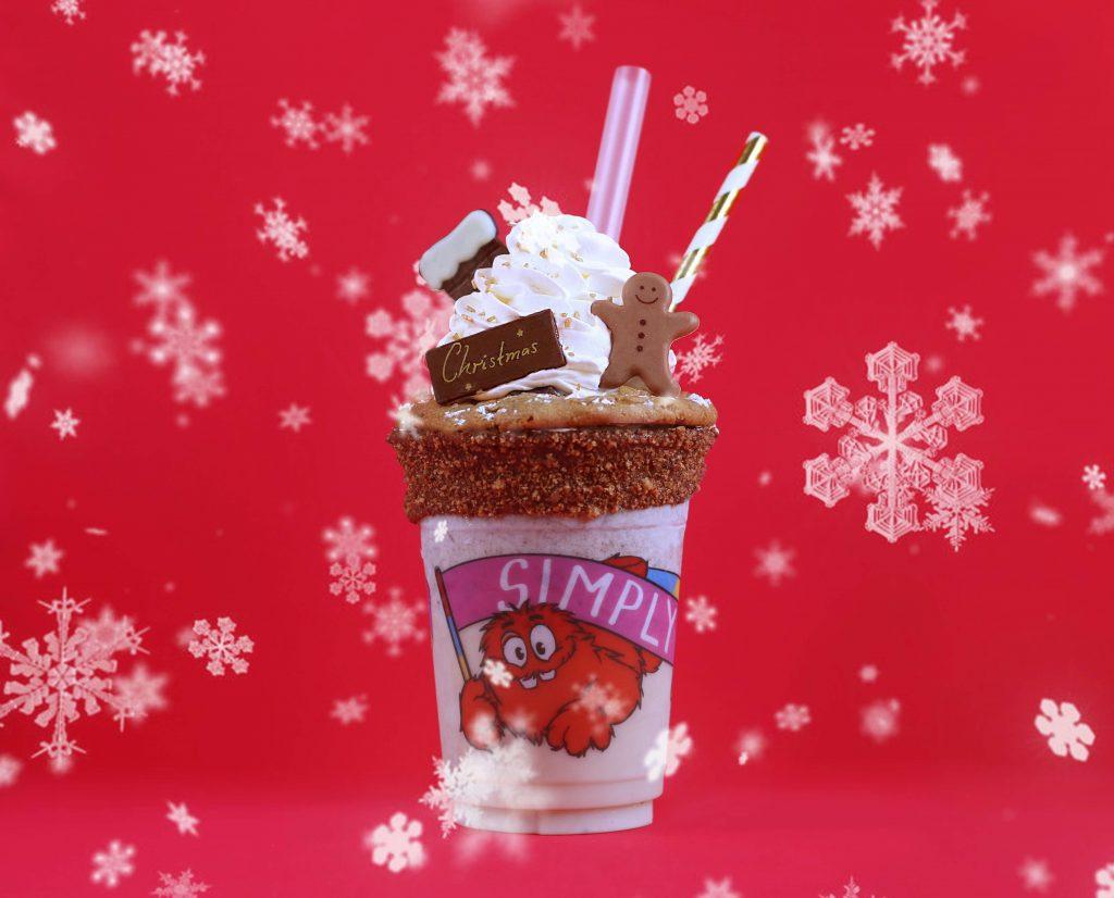 インスタ映え満点!クリスマス期間だけのクッキーたっぷりシェイクに注目の画像
