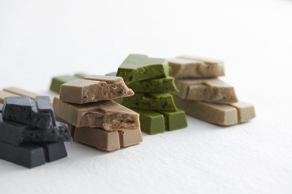和素材とショコラがコラボ!黒豆などを使用したチョコレートバー