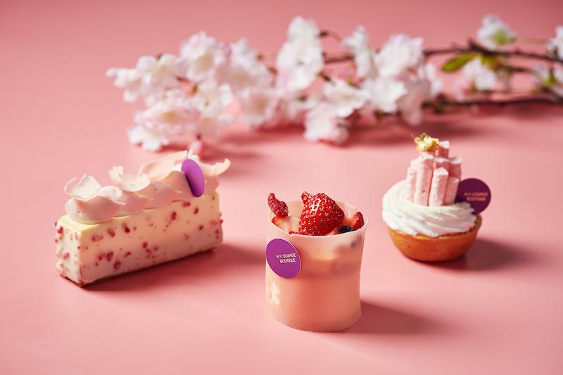 シェフ パティシエお手製のロールケーキも!心躍る春のホテルメイドスイーツの画像