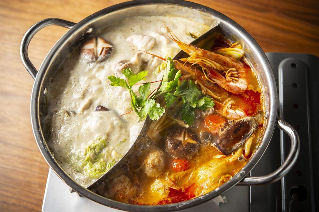 国内初!あの、タイ料理の2大人気メニューが火鍋にの画像