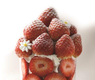 幻のパフェ「いちごやま」が百貨店に初登場!名品揃いの「大京都展」に注目の画像