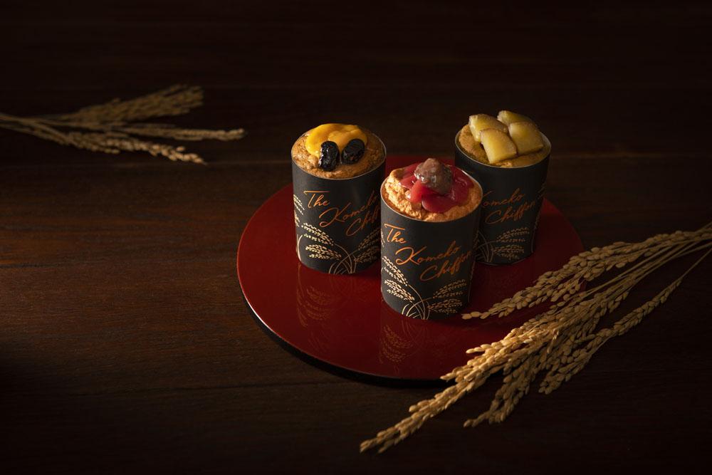 国産和素材を厳選!しっとり&もっちりな米粉のシフォンケーキの画像