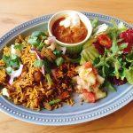 〈今週のカレー〉注目の世界料理カフェに登場した納得の「ビリヤニ」ってどんな味?の画像