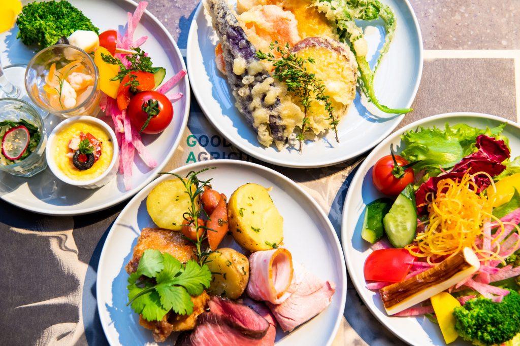 選手村のアスリート飯を再現! 安心安全な食材が食べ放題の画像