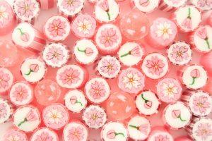 桜キャンディ満開!「パパブブレ」の桜シリーズ、今年の新商品を大公開の画像