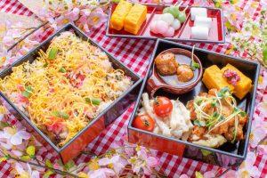 20品以上の料理とデザートが時間無制限で食べ放題! 期間限定「桜のランチビュッフェ」の画像