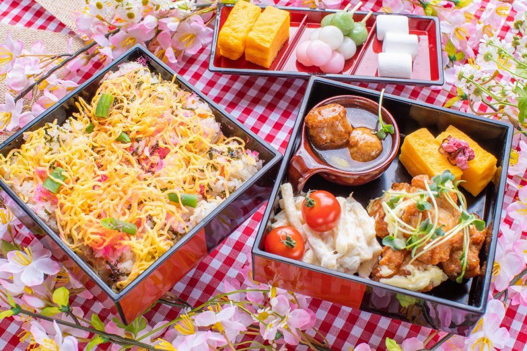 20品以上の料理とデザートが時間無制限で食べ放題! 期間限定「桜のランチビュッフェ」