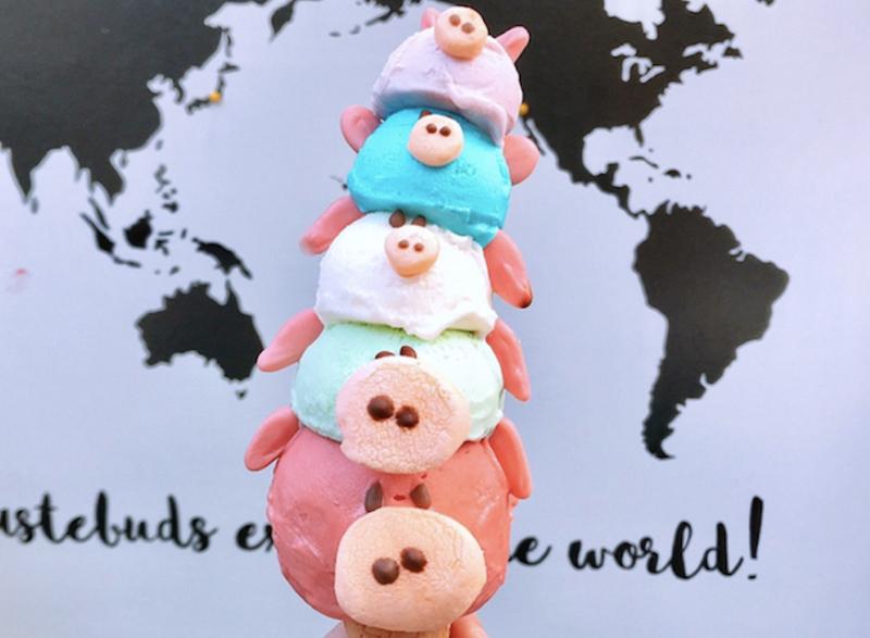 子ブタのアイスにハリネズミの飲茶まで! バラエティ豊かな東京いきものゴハンの画像