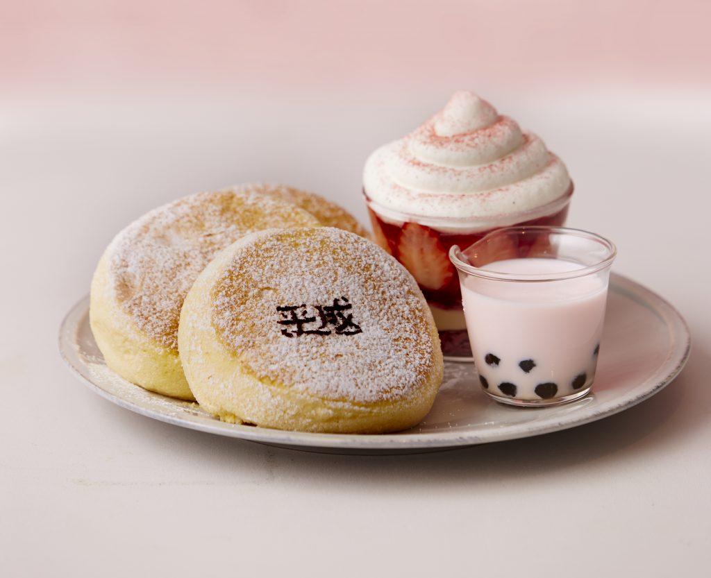 「平成最後の奇跡のパンケーキ」爆誕! 平成を代表する人気スイーツが一皿に集結の画像
