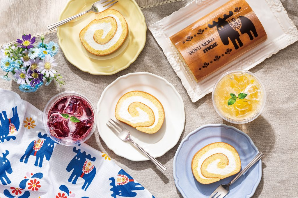 池袋限定!「ヨックモック」の大人気ロールケーキにハーブが香る新フレーバー登場の画像