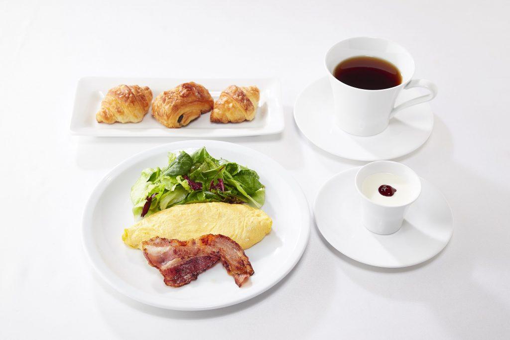 一日の始まりはおいしい朝食から!の画像