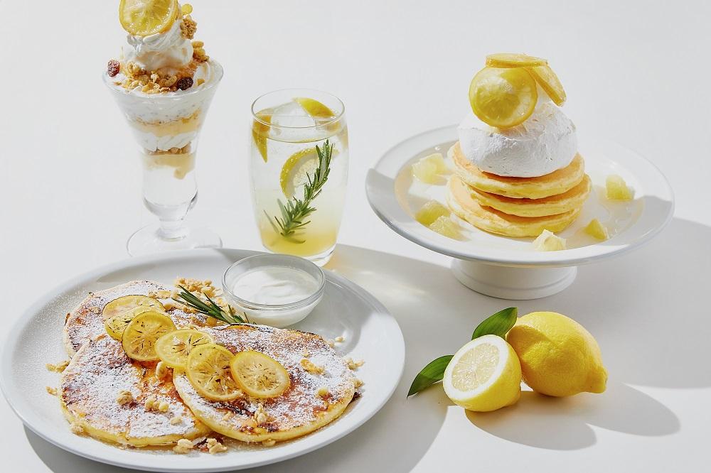 パンケーキ、レモネード、パフェ……瀬戸内レモンをたっぷり使用したスイーツをお届け!の画像