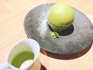 新宿で話題の映えスイーツ「チョコドーム」に抹茶味が期間限定で仲間入り!の画像