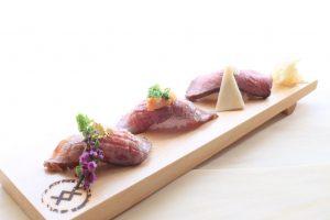 松阪牛を寿司で味わい尽くす! 京都祇園の肉寿司専門店が東京にの画像