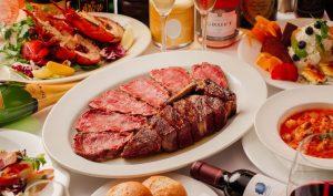 希少部位のシャトーブリアンとサーロインをひと皿に! エンパイアステーキハウスの最上位コースの画像